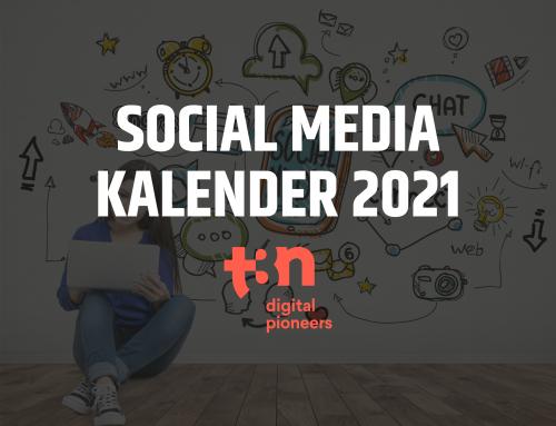 Vorlage für deinen Social-Media-Redaktionsplan 2021